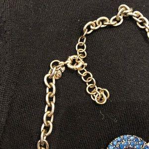 J. Crew Jewelry - J Crew Necklace Jewelry. Blue gems.